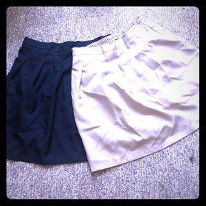 Two school skirts